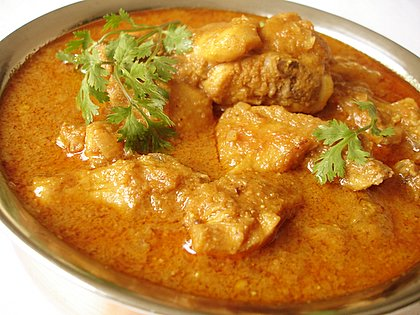 South Indian Butter Chicken Dish