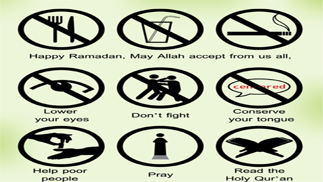 Some Common mistakes made by Muslims in Ramadaan