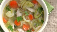Spring Vegetable Chicken Soup