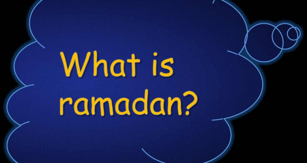 What does Ramadaan mean to you?